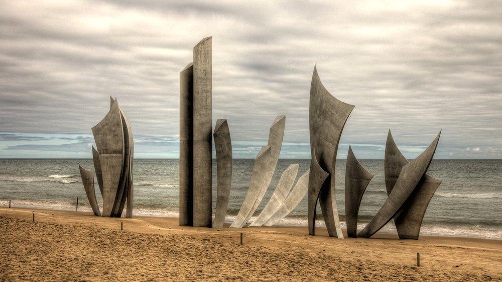 Omaha Beach, by herb1979 / Source:  Pixabay