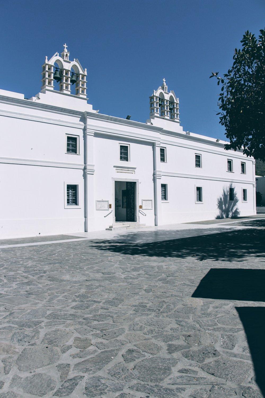 The Church of Ekatondapiliani in Parikia