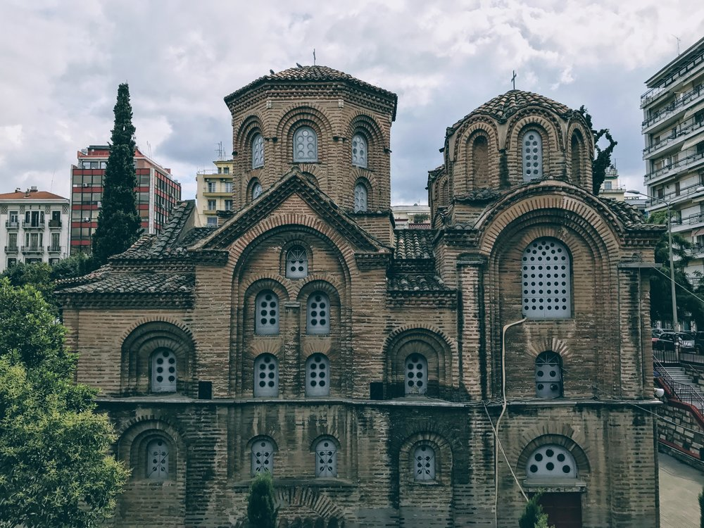 The Church of Panagia Chalkeon