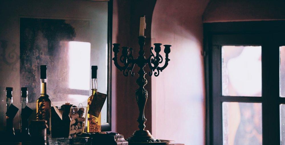 Interiors at Koukoumavlos