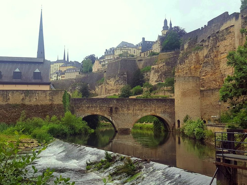 Luxembourg city / Image: Rowan Heuvel  Source