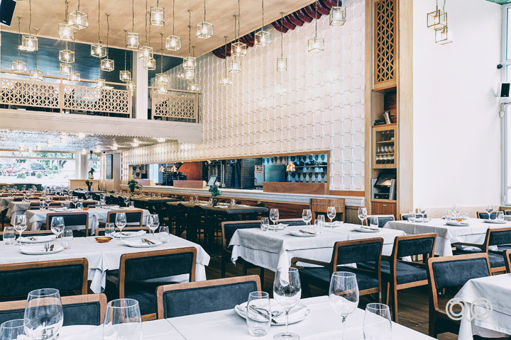 Old Athenian vibe at Cookoovaya's main dining area