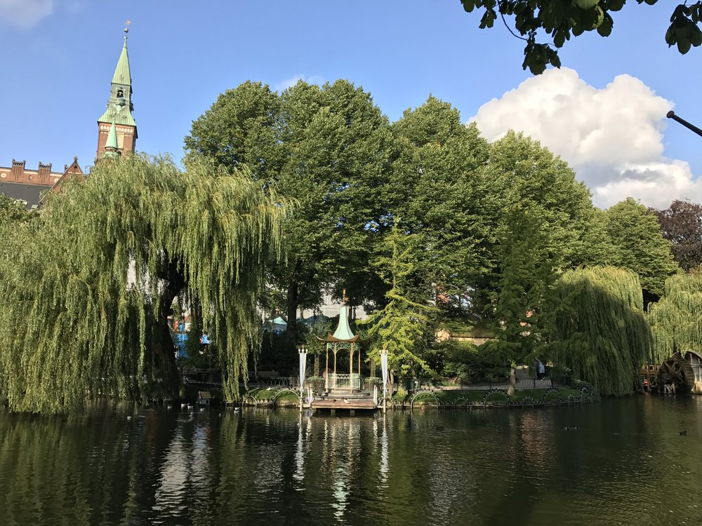 Tivoli Gardens is part garden, part amusement park, and part theatre.
