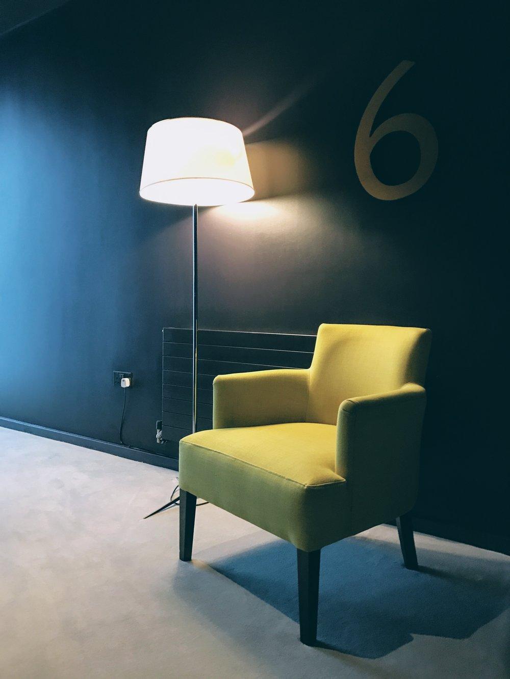 Upscale, modern and stylish interiors