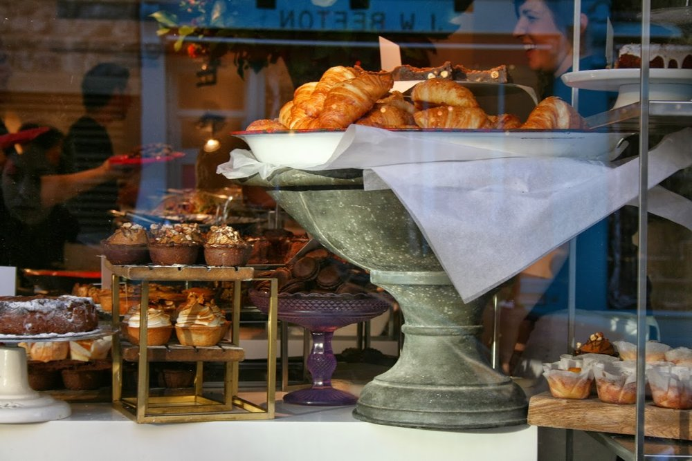 Window display at Notting Hill's Ottolenghi