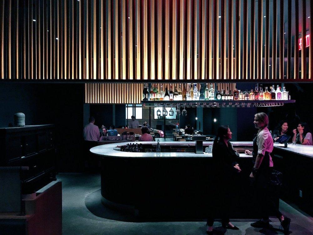 Dining room of Cote Korean Steakhouse