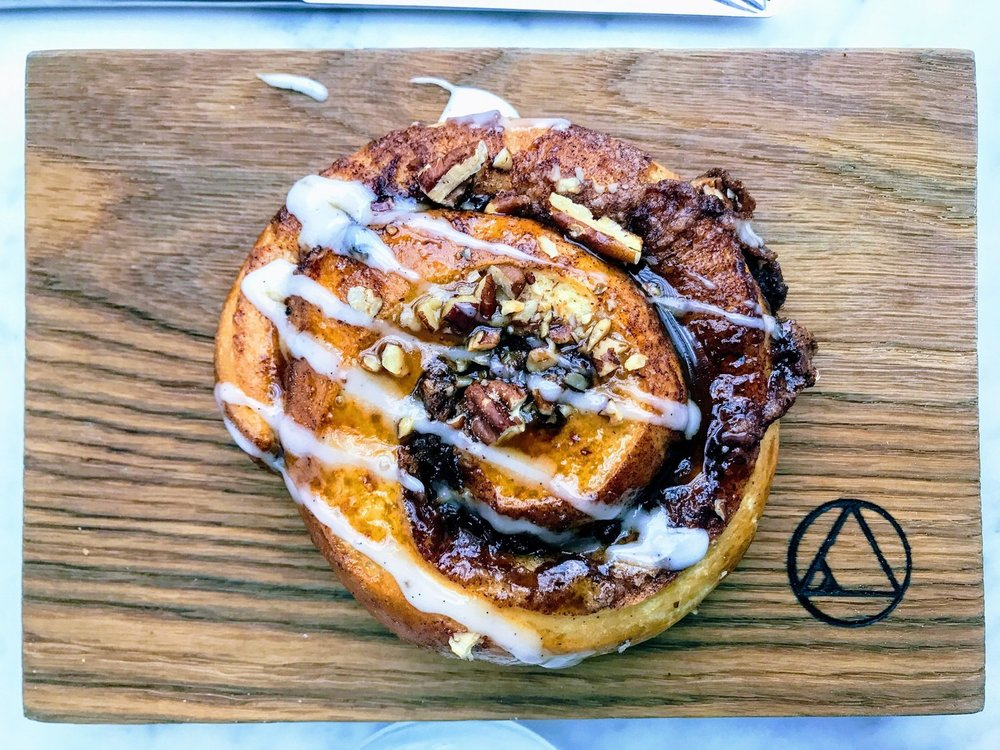 Pecan sticky bun at Sunday in Brooklyn