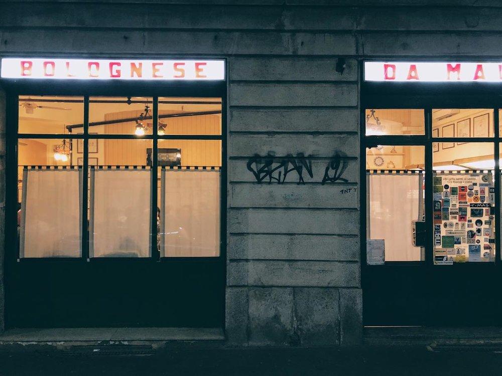 Trattoria Bolgnese da Mauro, Milan