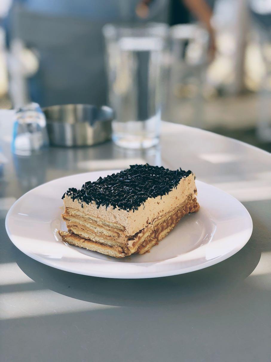 Kythnos signature cookie-based dessert
