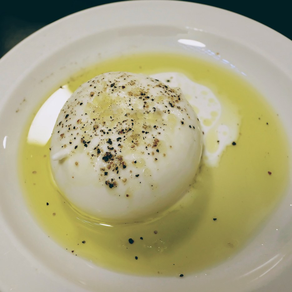 Burrata with Fiorano olive oil.jpeg