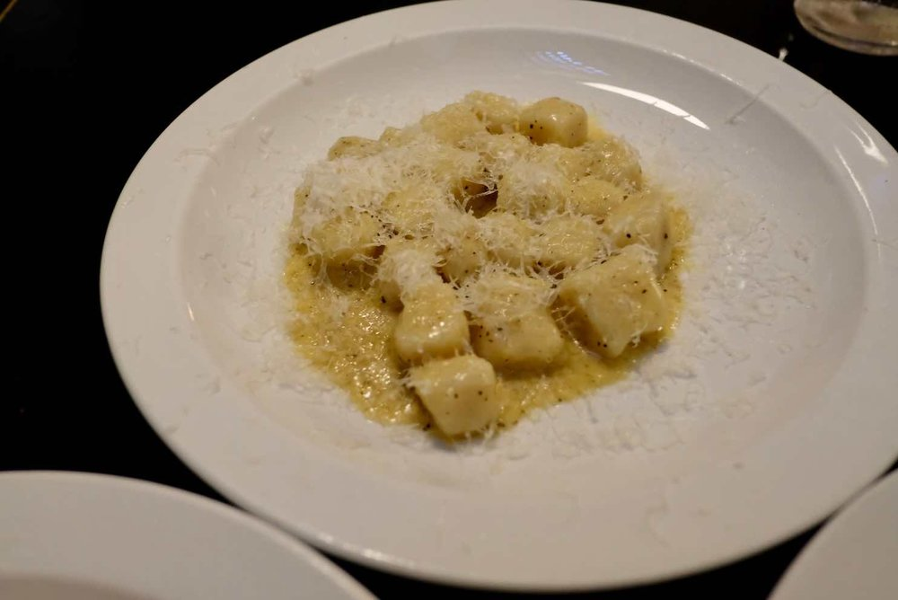 Gnocchi with Nutmeg butter