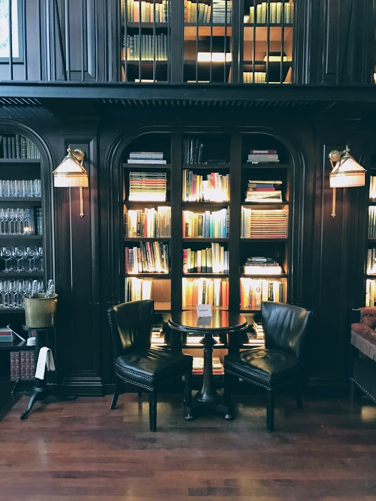 The Library Cafe at the Nomad Hotel