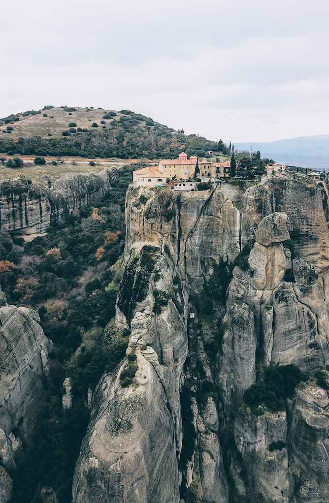 St Stephanos monastery at Meteora