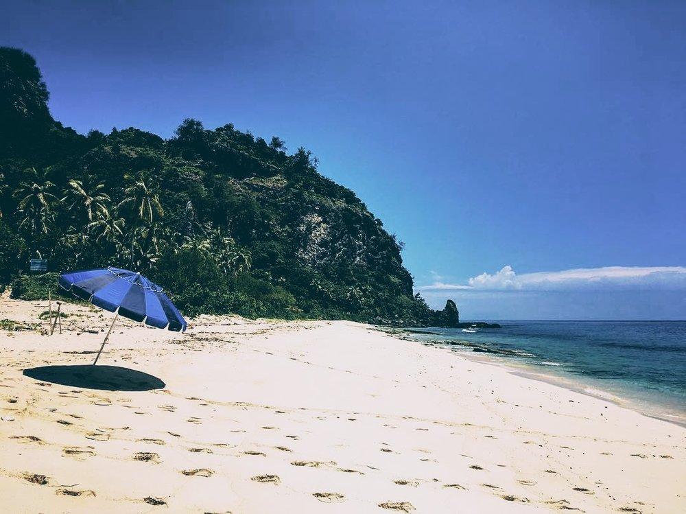 Beach at Monuriki Island, Fiji