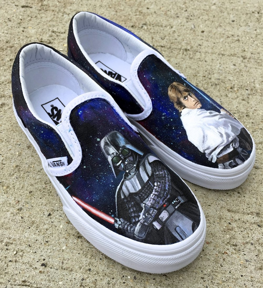 Vader vs Skywalker  Children's Vans