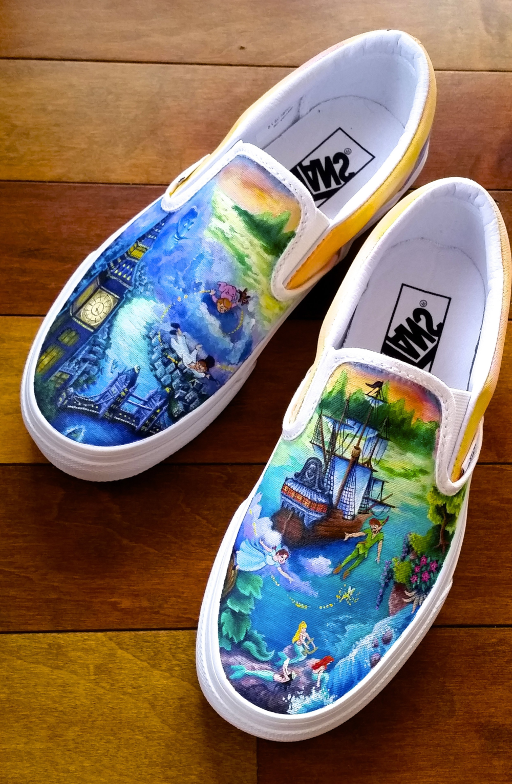 London to Neverland  Vans