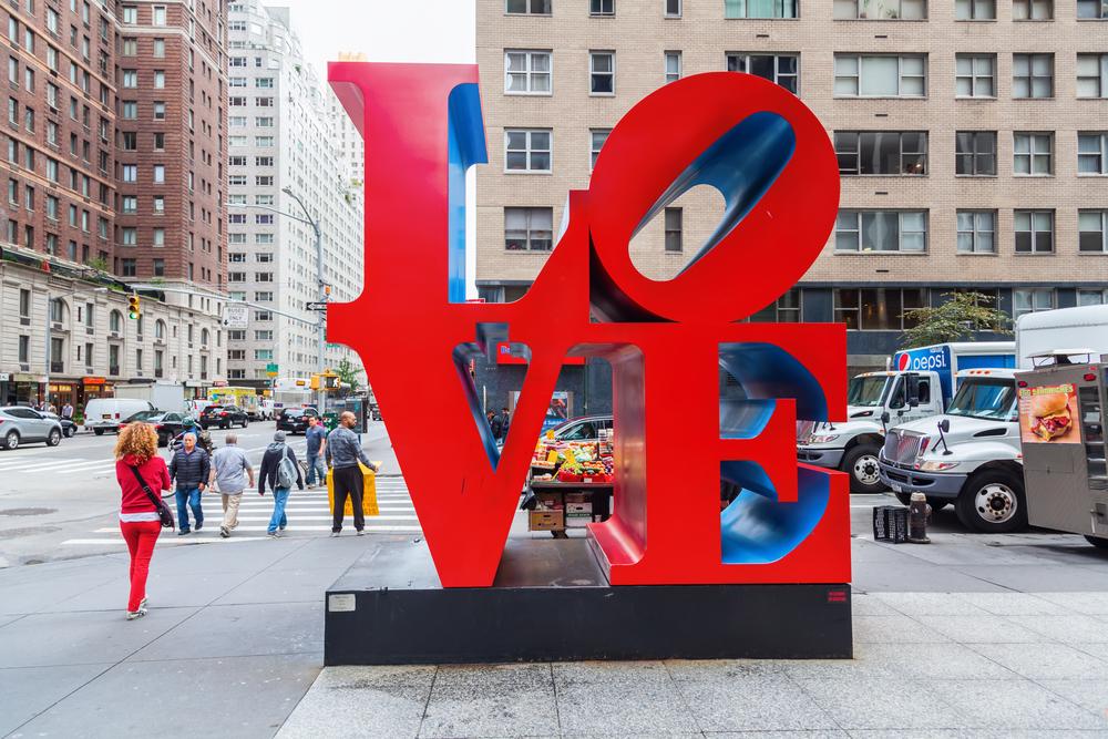 nyc love art
