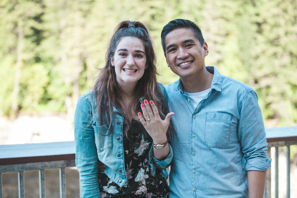 the ring has landed! #shesaidyes