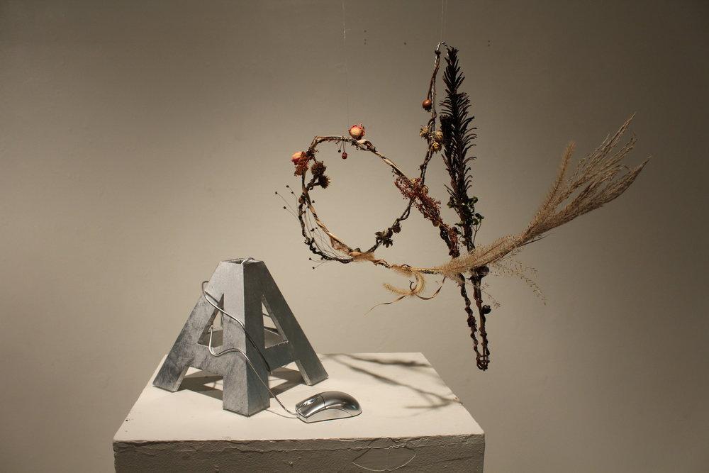 Type in 3D: Wood Sculpture