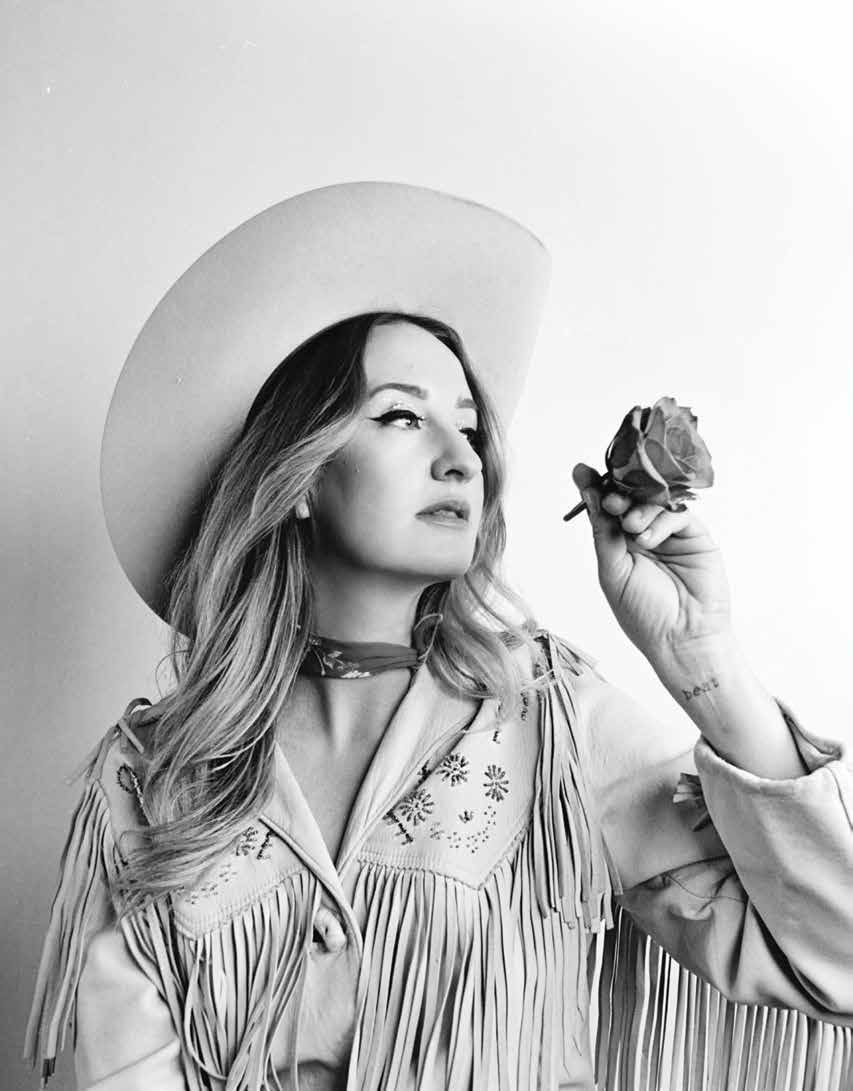 Margo Price  East Nashvillian Magazine  Photo by Alysse Gafkjen  Hair + Makeup by Brittney Head  Styling by Stephanie Thorpe