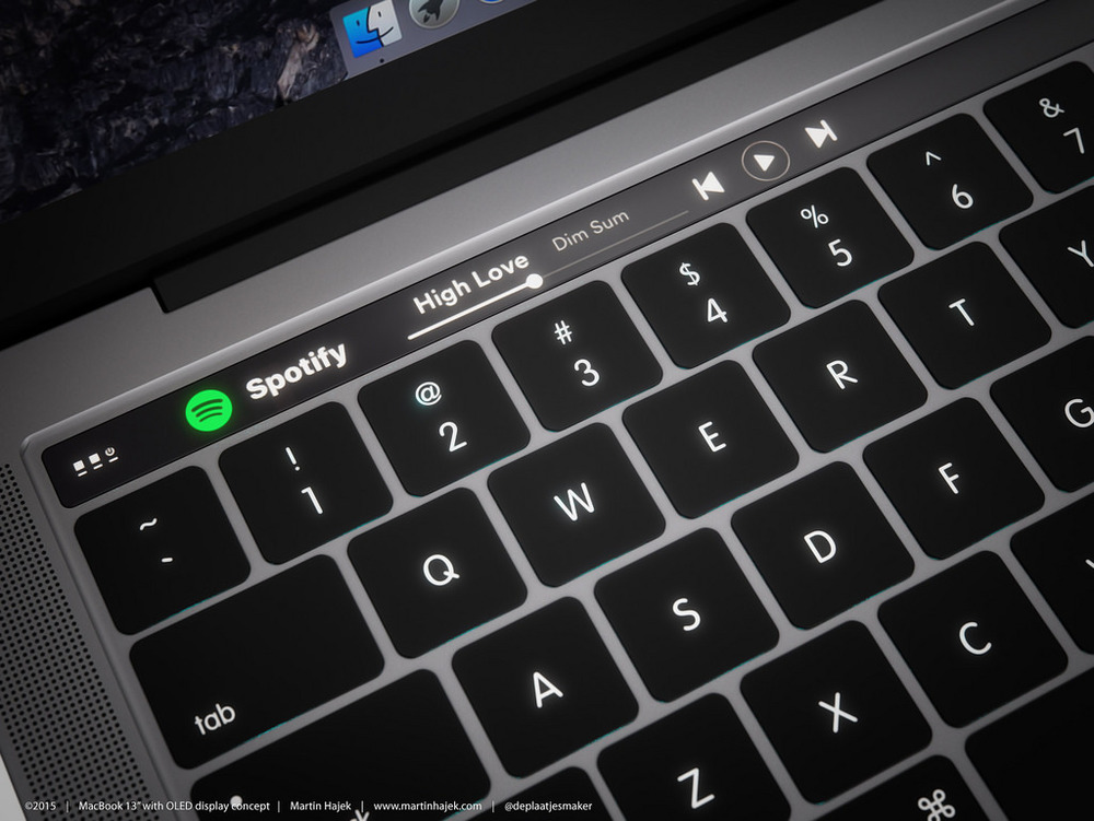Source: MacBook Pro Render | Martin Hajek | http://www.martinhajek.com/macbook-meets-oled/