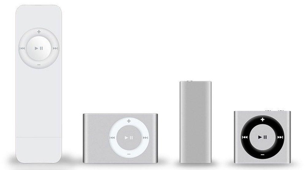iPod Shuffle Line-UP