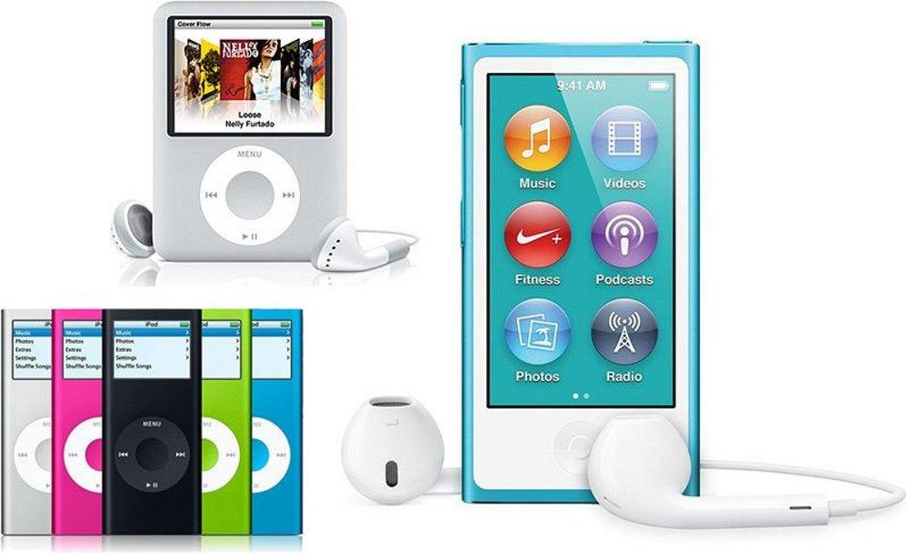 iPod Nano Line-Up