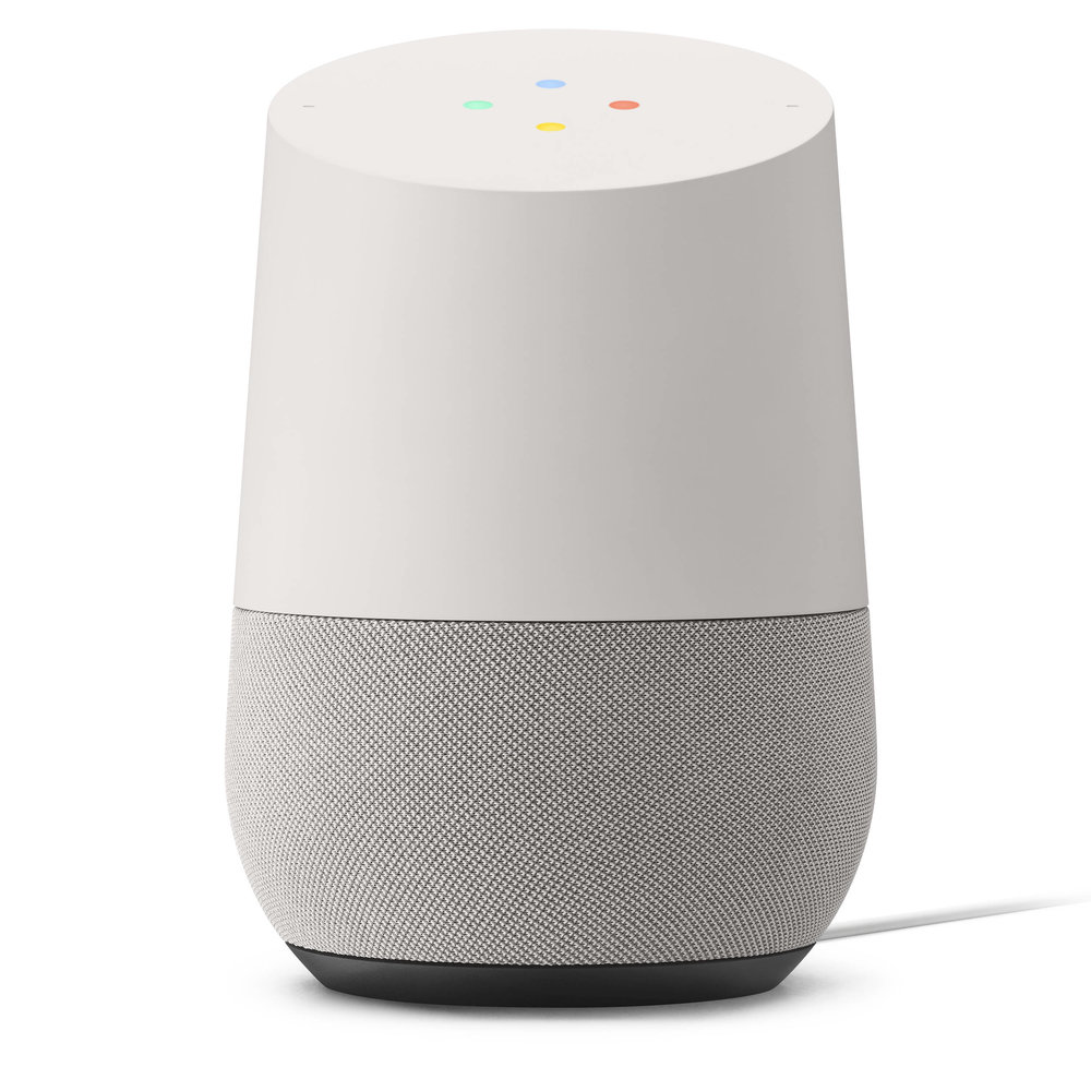 | Google's Home Speaker (in White) |