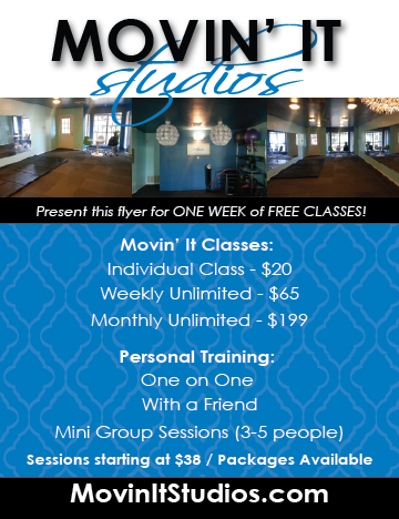 Fitness center flyer