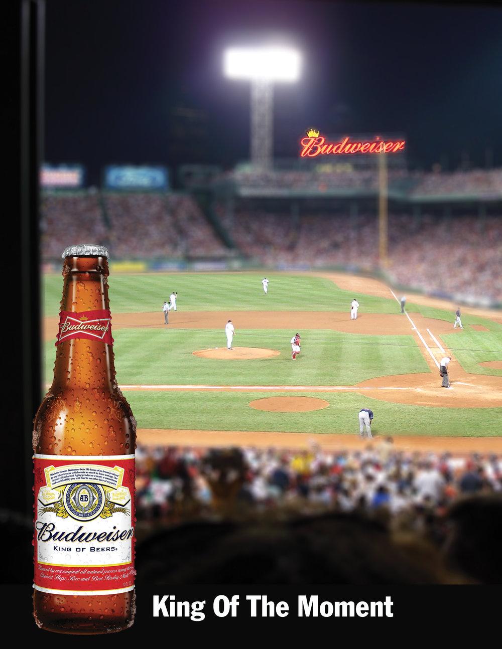 Budweiser print ad contest