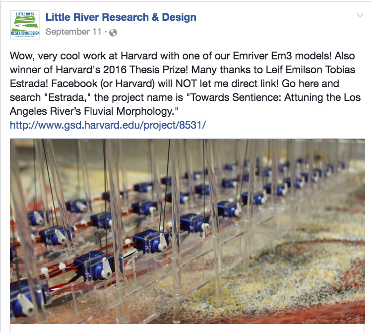 Little River Research and Design - Social Media Feature