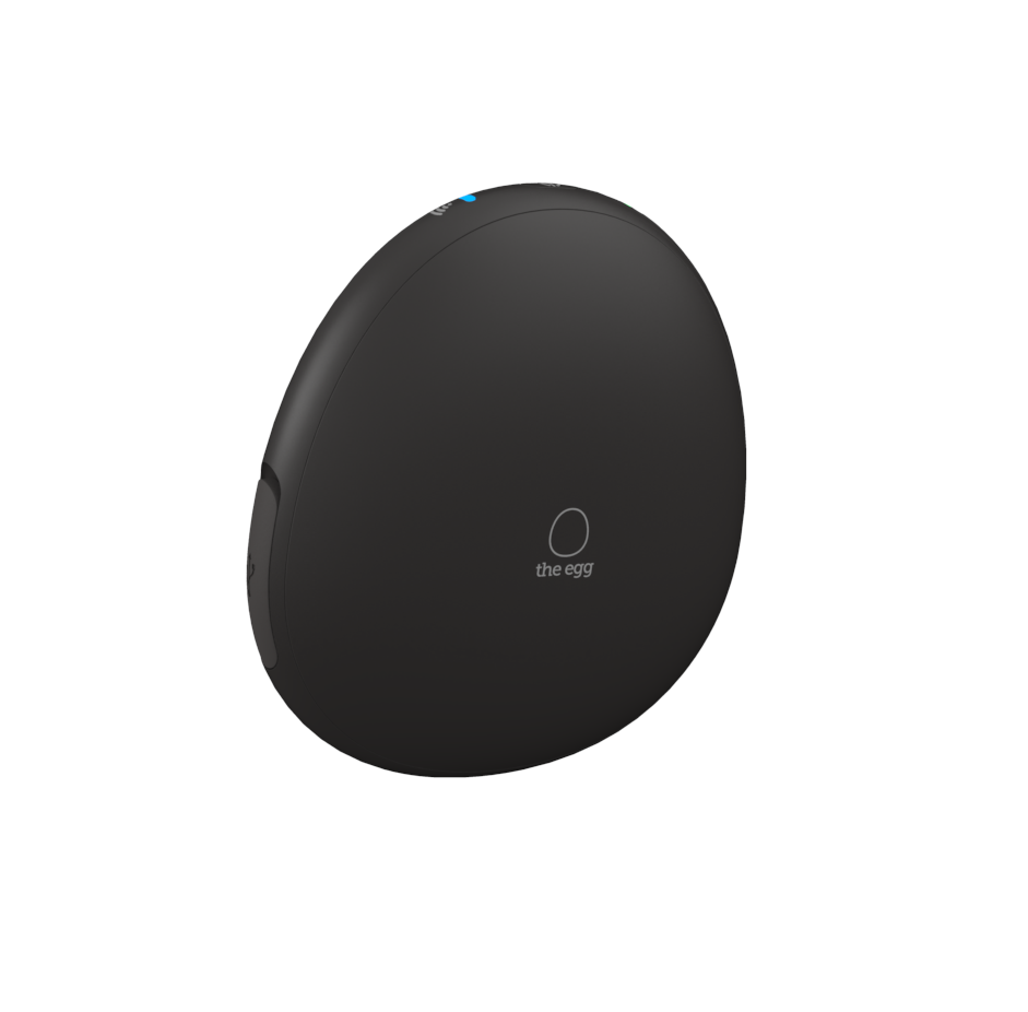 A private messaging server and personal cloud server, The Egg is an attractive device that fits in the palm of your hand.