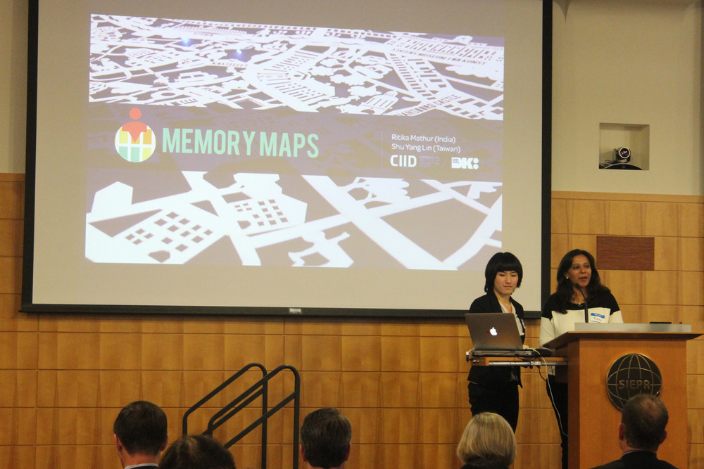 Presenting Memory Maps at Stanford Center of Longevity 2014, USA