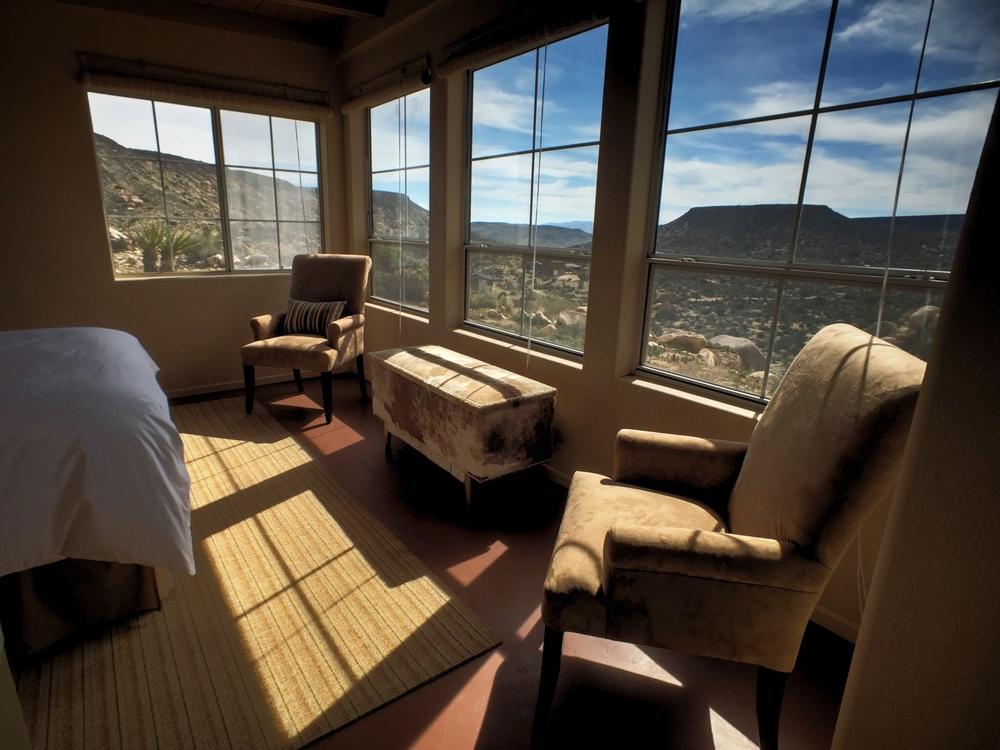 Los-Vientos-Hideaway-Bedroom Side Window View.jpg