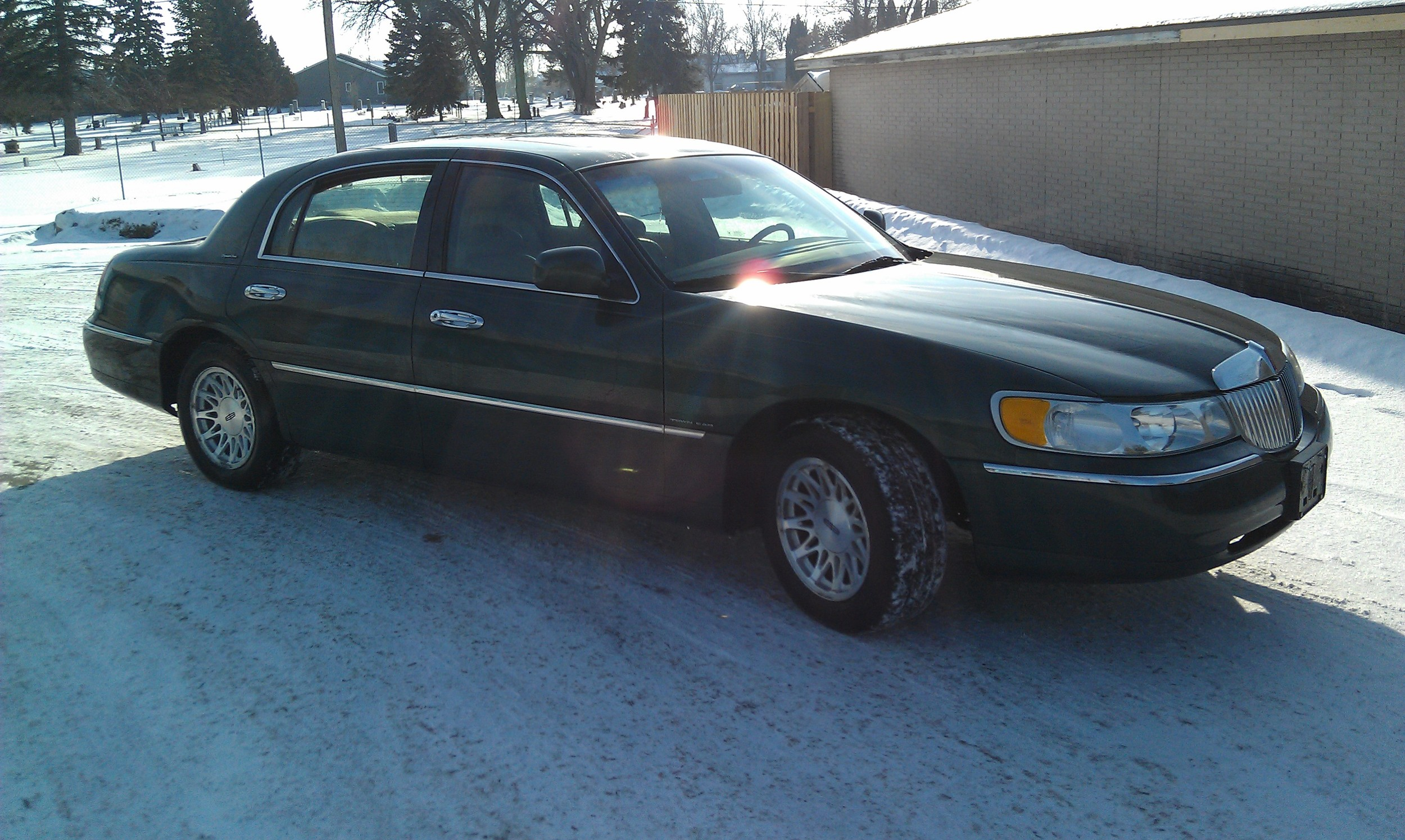 1998 Lincoln Town Car Sold