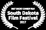 BEST SHORT COMEDY FILM - South Dakota Film Festival - 2017.png