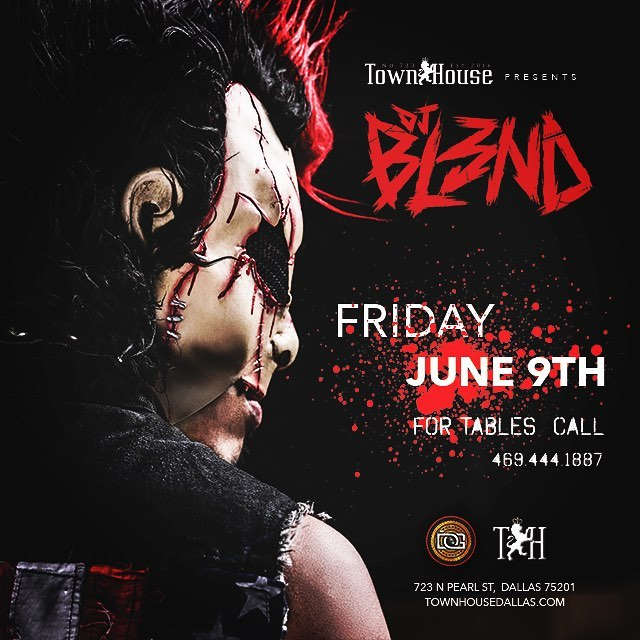 Electric Circus takes over Townhouse Dallas this Friday!! @dj_bl3nd in the house!