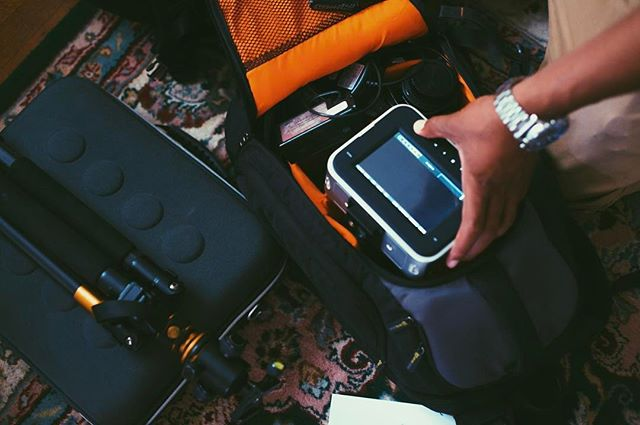 Packing up for our shoot today! #danielgagemedia #DGM