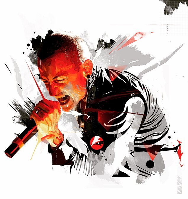 Today we lost one of DGM's favorite and most influential icons in the music word to suicide.  It's such a sad tragedy.  Linkin Parks music has been a staple for some of us for over 15 years. We pray for those 6 children he leaves behind and his LP family and fans. #chesterbennington #linkinpark #music #icon #influencer #rock