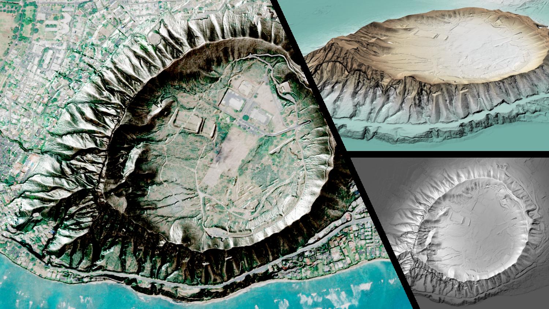 3D DEM Visualization in QGIS 3 0 — open gis lab