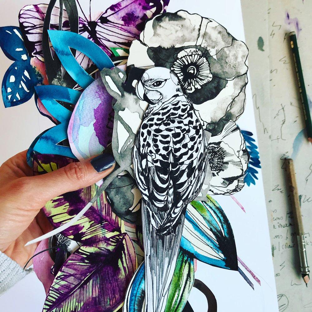 Cut pieces - Holly Sharpe
