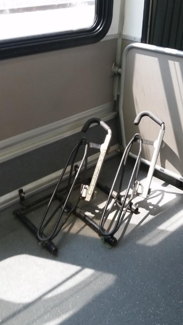 2 onboard bike racks