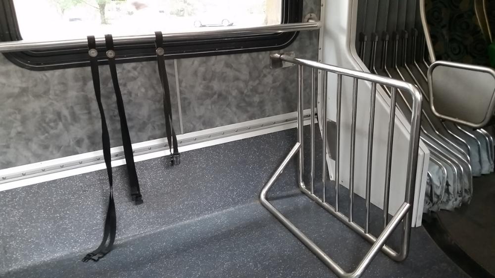 EmX bike racks