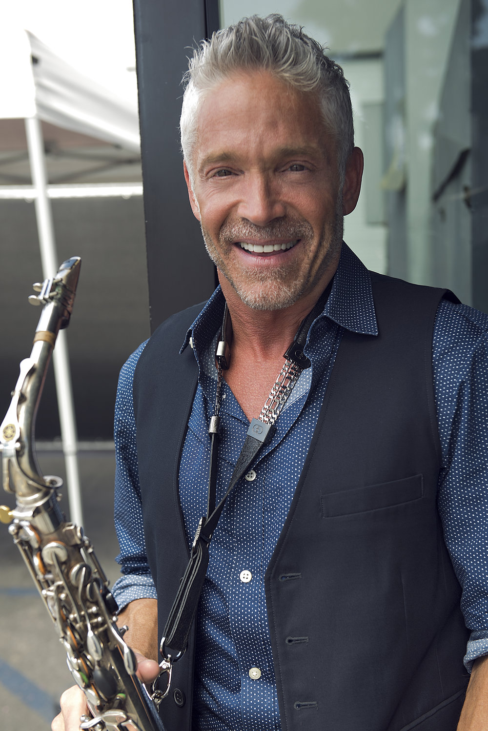 Dave Koz - Honored to have Saxophone Legend Dave Koz apart of our family. Dave loves the Shadow Strap.In the 25 years since the release of his self-titled solo debut album, saxophonist Dave Koz has received nine GRAMMY® nominations, had nine No. 1 albums on Billboard's Current Contemporary Jazz Albums chart, toured the world and been honored with a star on the Hollywood Walk of Fame.Check him out at DaveKoz.com
