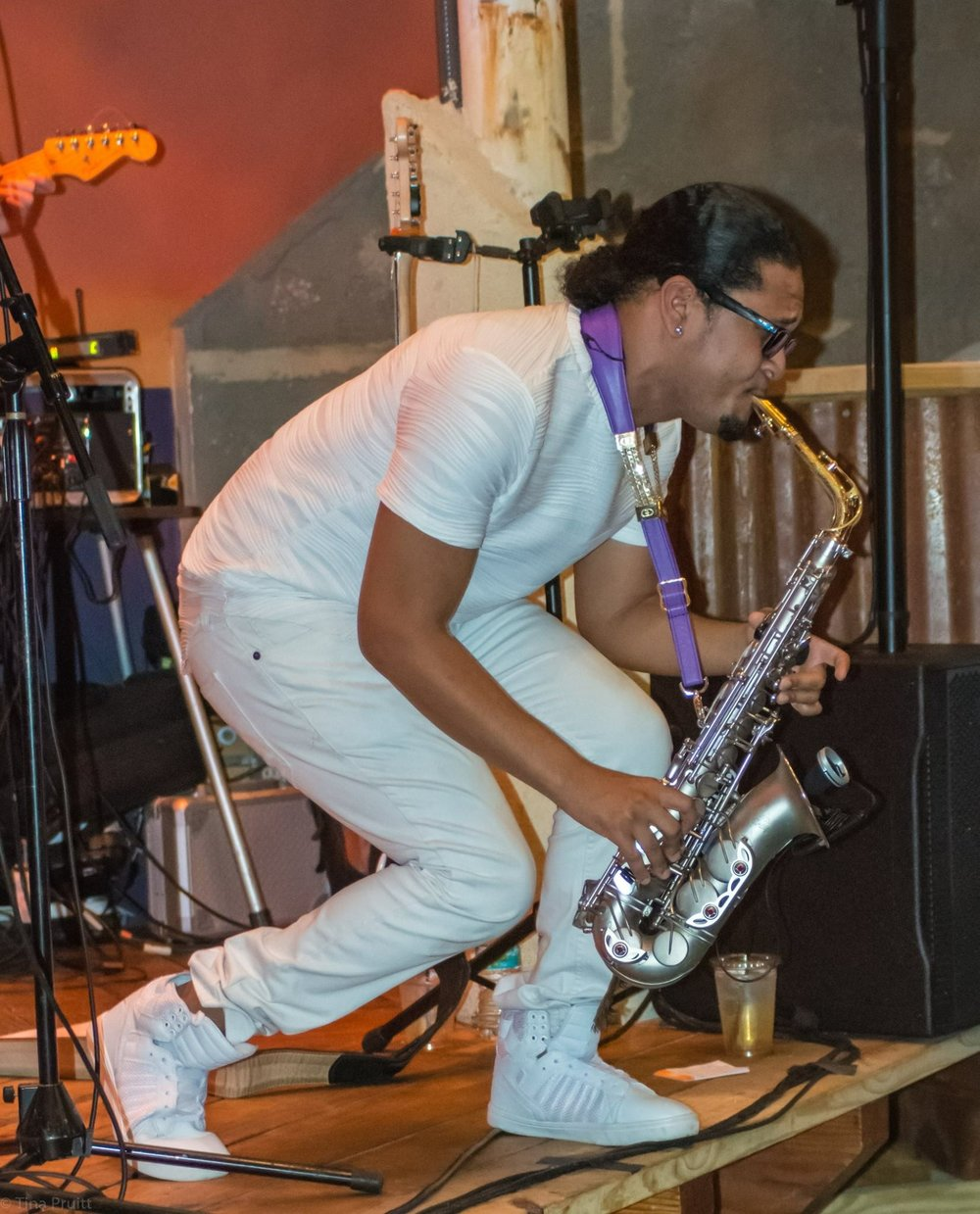 Adrian Crutchfield - Adrian Crutchfield has taken the world by storm in recent years, not only as the last sax player to perform and record with Prince, touring the world and being featured on Prince's last three albums, but also touring domestically and internationally with acts such as Lionel Ritchie, Bette Midler, and Cee Lo Green — all the while writing and building his 2017 release titled 'Leap'.Follow Him: Facebook - Instagram - YoutubeWEBSITE: http://adriancrutchfield.com