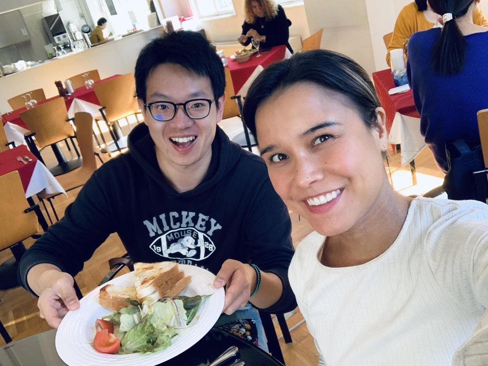 Lunch with a Chinese Student who Studied in Australia.JPG