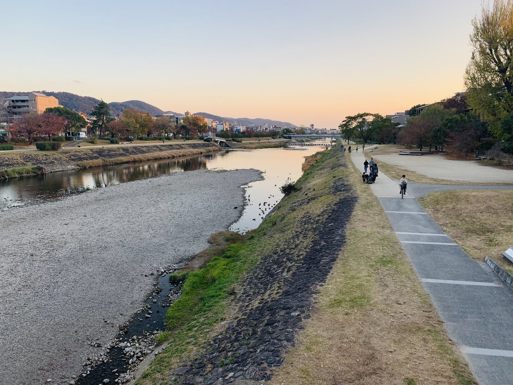 Kamogawa at Sunset.jpg