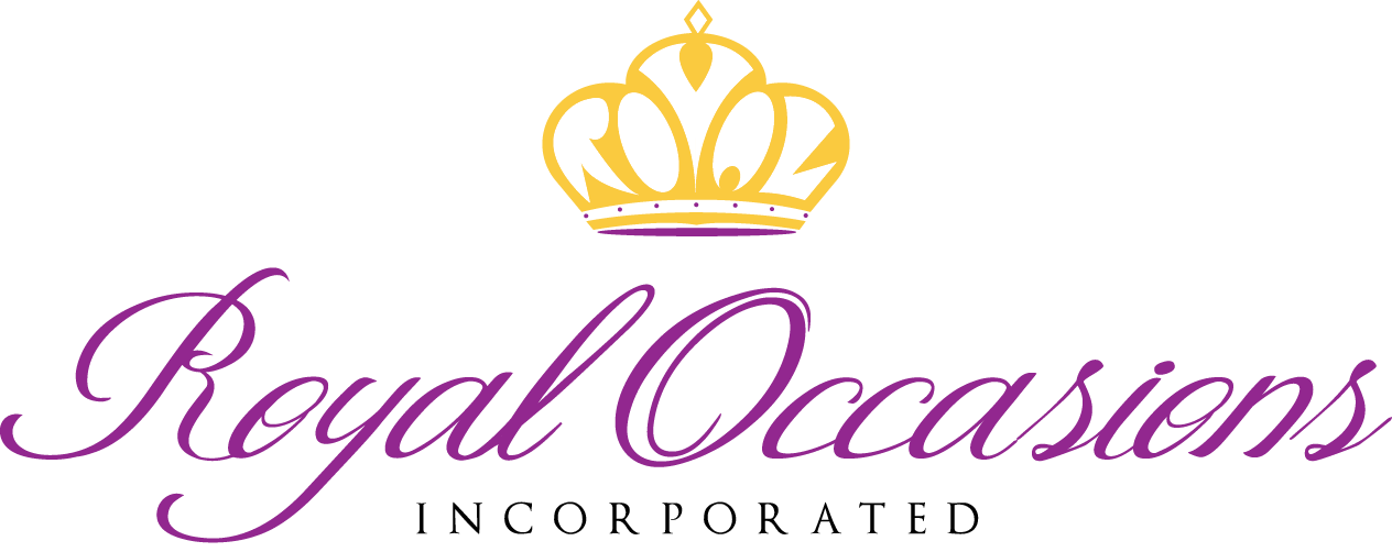 Royal Occasions Inc. | Unique Celebrations & Unforgettable Memories | Full Service Wedding & Events Agency