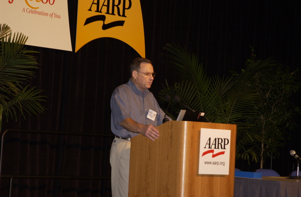 AARP Keynote Speaker, Laurence Weinstein