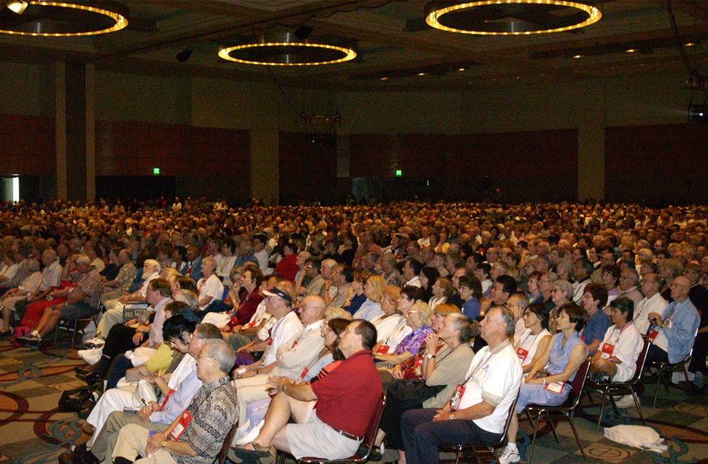 "AARP ""Universal Design"" Keynote Speaking Event. Over 5,500 in attendance."